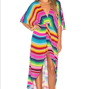 Show Me Your Mumu Get It Twisted Maxi Dress S